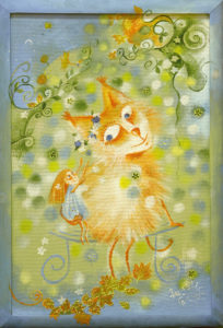 Весенний котик
