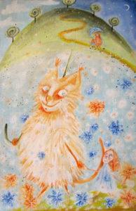 Снежный котик